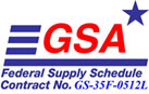 GSA Federal Supply Schedule Contract No. GS-35F-0512L